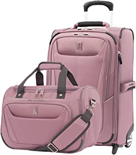 Luggage Maxlite 5 | 2-Piece Set | Soft Tote and 22-Inch Rollaboard (Dusty Rose)