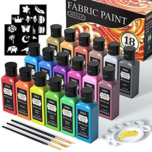 La Mejor Recopilación de Pinturas para tejidos y telas - solo los mejores. 3