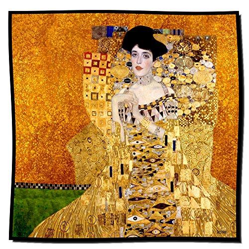 Artis Vivendi Tuch Seidentuch Klimt - Adele gold 100 x 100 cm
