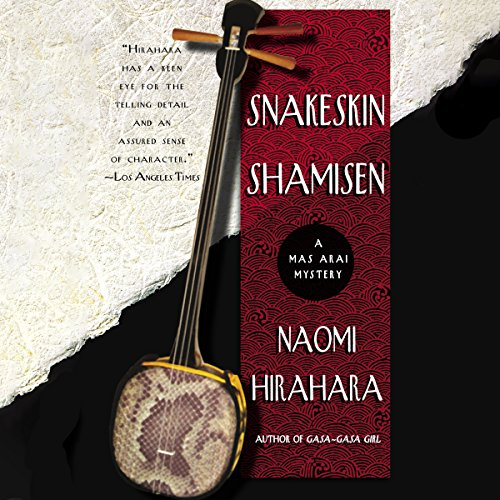 Snakeskin Shamisen audiobook cover art