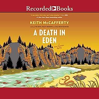 A Death in Eden audiobook cover art