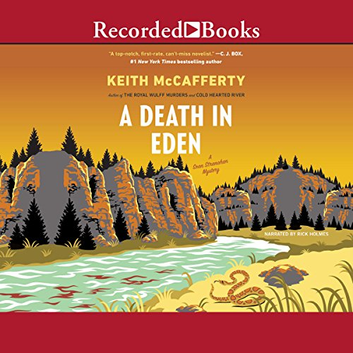 A Death in Eden audiobook cover art