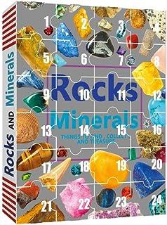 Ore No?l Calendrier de l'Avent Set Rocks Mineral Collection Blind box 24 Jours Compte à Rebours Gemmes Coffret Cadeau pour...