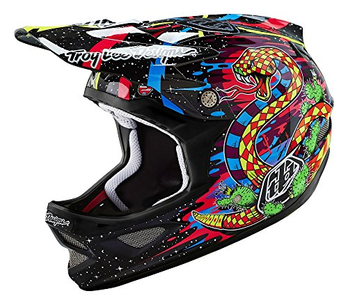 Troy Lee D3 Carbon MTB-Helm XS Blacklight Black