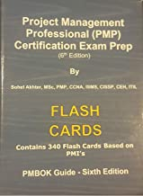 PMP Flash cards - 340 cards - 6th Edition