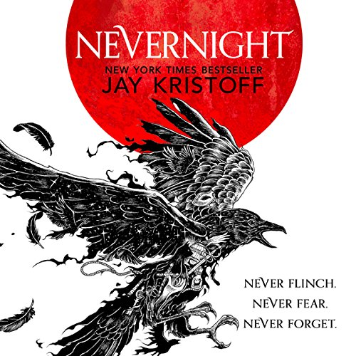 Nevernight audiobook cover art