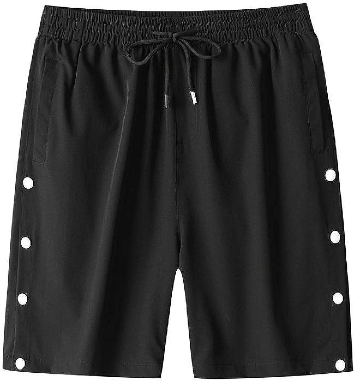 Men's Shorts Fashion Unique Breasted Design Casual Loose Comfortable