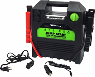 Forney 52732 Battery Booster Pack with 120 PSI Air Compressor, 18-Amp Hour,