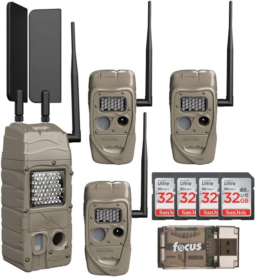Cuddeback CuddeLink Powerhouse IR Many popular brands Ranking TOP4 Cell Trail Model ATT Camera