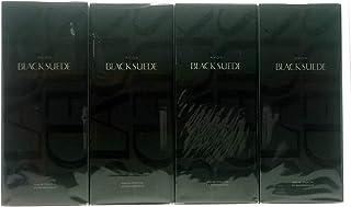 4 x AVON Black Suede Eau de Toilette Para Hombre 125ml Set