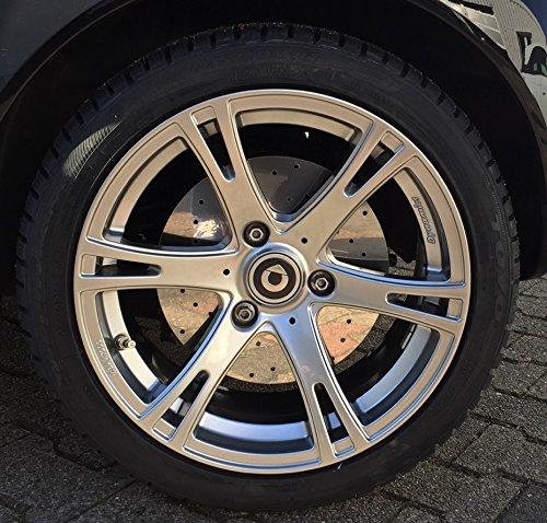 MisterDotCom Bremsscheibenattrappen Edelstahl smart fortwo 450 451 Roadster 452