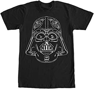 Star Wars Men's Vader Sugar Skull T-Shirt