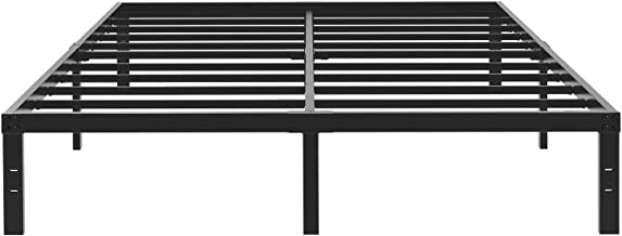 45MinST 14 Inch Platform Bed Frame/Easy Assembly Mattress Foundation / 3000lbs Heavy Duty Steel Slat/Noise Free/No Box Spring Needed, Twin/Full/Queen/King/Cal King(Full)