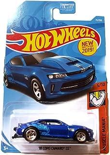 Hot Wheels 2019 Muscle Mania 5/10 - Blue '18 Copo Carmo SS #71/250 on U.S. Card
