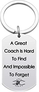 Key Chains Coach Gifts Coach Birthday Gifts Dog Tags Keyrings A Great Coach Is Hard To Find And Impossible To Forget