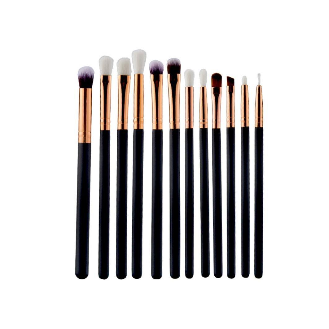 Becoler Eyebrow 100% quality warranty! Eyeshadow Brush Makeup Sets Kits 12P Max 43% OFF Tools