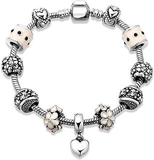 OPK Fashion Heart-Shaped Charm Bracelet For Women