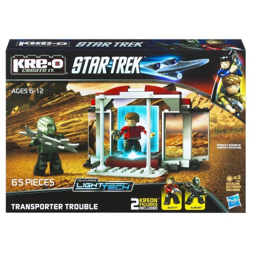 KRE-O Star Trek Transporter Trouble Construction Set (A3140) by Kre-O TOY (English Manual)