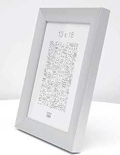 Deknudt S021D1_21.0x29.7 Photo Frames, Metal, Silver, 21 x 29.7 cm