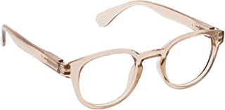 Peepers by PeeperSpecs Smith Focus Round Blue Light Filtering Reading Glasses