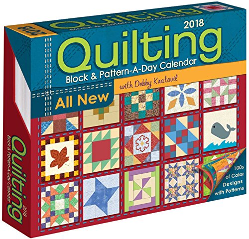 Quilting Block & Pattern-a-Day 2018 Calendar