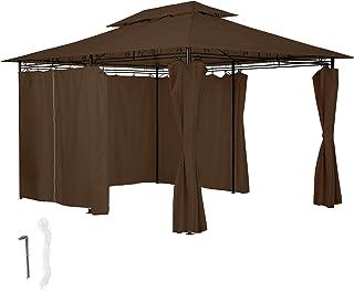 Gazebo Giardino 6x6.Amazon It 6x6 Gazebo Ombrelloni Tende E Tettucci