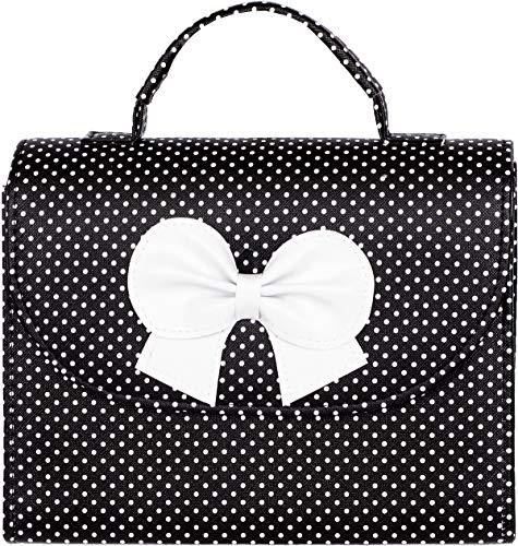 Küstenluder Damen Handtasche Marge Polka Dot Tasche Schwarz