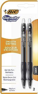 BIC Gelocity Original Gel Pen, 2 Pieces