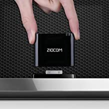ZIOCOM Bluetooth Adapter for iPhone iPod Bose SoundDock and Other 30 Pin Dock Speakers,..