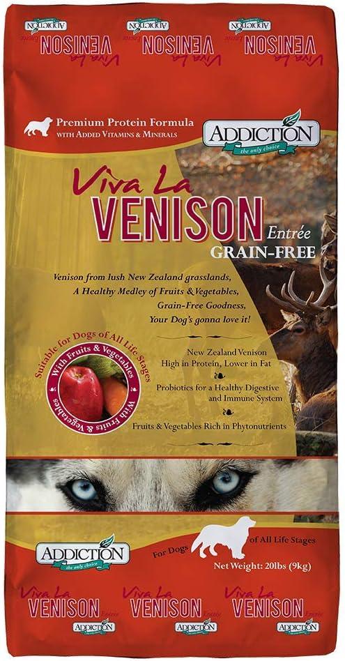 Addiction Grain Free San Diego El Paso Mall Mall Dry Formulas Venison Food Dog