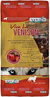 Addiction Grain Free Dry Dog Food Formulas Venison