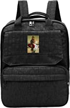 WUHONZS Travel Backpack Cool Funny Chewbacca Surfing Poster Gym Hiking Daypack College Laptop and Notebook Bag for Women &...