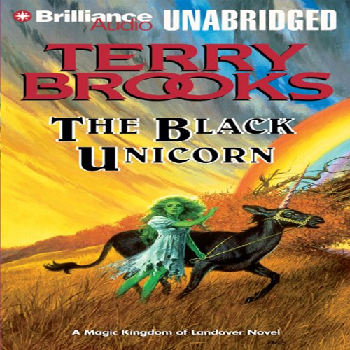 The Black Unicorn audiobook cover art