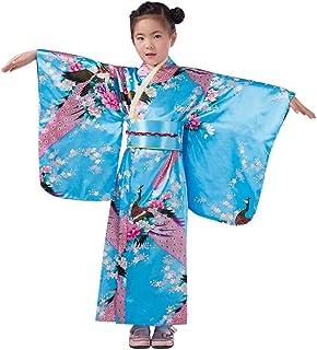 ازياء الرضيع اف ميستري بيجامات للاطفال والصغار والفتيات، لباس النوم كيمونو، ملابس يابانية، مجموعة من 3 قطع - 10 تي