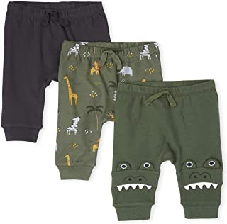 The Children's Place Baby Boys Pants, Pack of Three Pants
