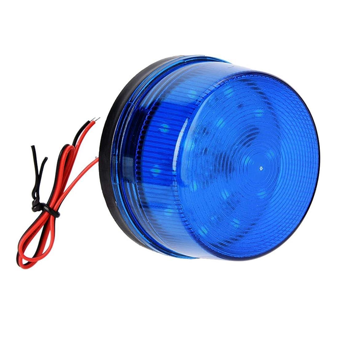 しないでください近々サーキットに行く青い警報信号 12V音の爆発防止のない青いLED ストロボの合図の警報点滅ライト ホームセキュリティー警報システム