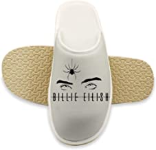 Keep Warm Bad Guy_Billie_Eilish Washable Comfortable Slippers Winter Slipper with Arch for Women Kids Men