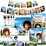 Bob Ross Party Supplies (Deluxe) Classic Birthday Party Pack, 74 Piece Set, by Prime Party
