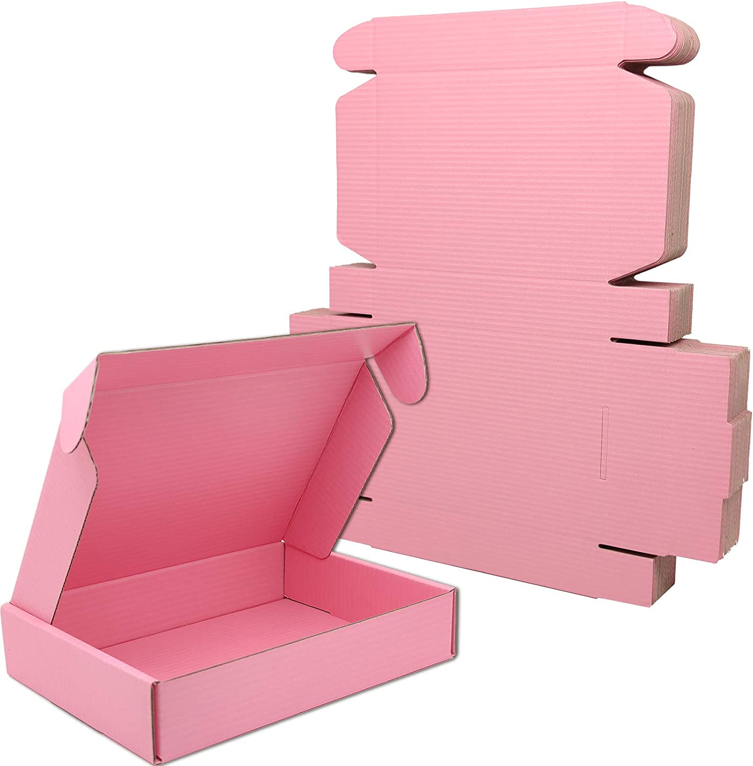 Lmuze Small Pink Shipping Boxes for 25 - Max 74% OFF Under blast sales of Pack Business