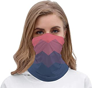 Flat Dusk Palette Unisex Multifunctional Bandana Neck Gaiter Tube Headwear headkerchief, Outdoors Sports Motorcycle Face Mask Bandana Headband for Men Women Face Scarf