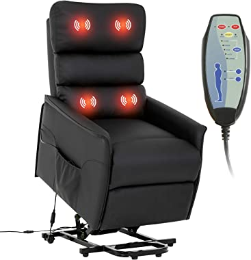 Lift Chair for Elderly Recliner Power Lift Chair Recliner Electric Recliner Wall Hugger Recliner Chair Living Room Chair with