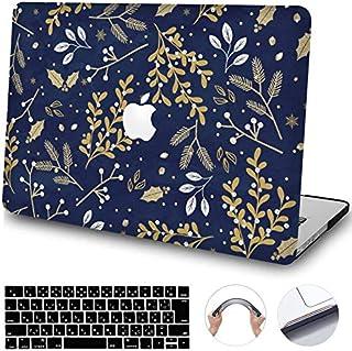 """OBOSOE Macbook 12 シェルカバー,薄型 保護 で丈夫なア 衝撃吸収 汚れに強い 薄型 保護 で丈夫なア 衝撃吸収 汚れに強い プラスチックハードケース にとって MacBook 12"""" A1534 + キーボードカバー-Ran53"""