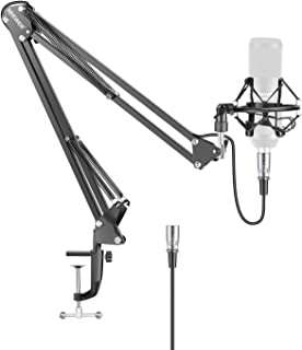 Neewer NW-35 Metal Suspension Boom Scissor Arm Stand with Bu
