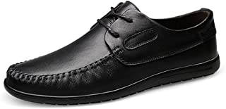 [Sunlane] 革靴 ビジネスシューズ メンズ 本革 靴 スニーカー 通勤 通学 レースアップ 外羽根 ストレートチップ カジュアル 軽量 柔らかい 23.5cm-28.5cm