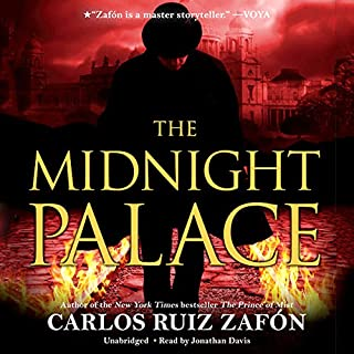 The Midnight Palace audiobook cover art