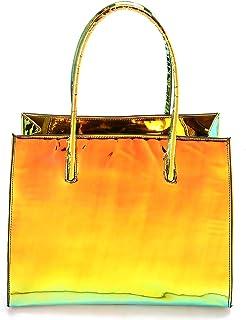 Lela fashion hand bag for women - YELLOW