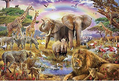 Puzzle de 1000 Piezas para Adultos,Papel Rompecabezas 1000pcs,Animal Puzzle 1000,Puzzle de Cartón de Alta Dificultad,Juego de Desafío