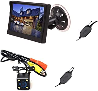 E-Kylin Wireless Car Auto 5 inch HD Monitor LCD TFT + Backup Camera Reverse Parking Kit LED Night Vision CCTV Safety Surve...