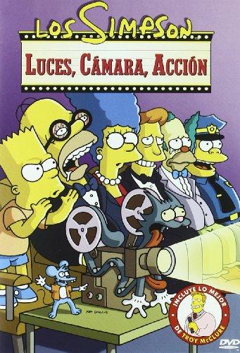 Los Simpson: Luces, Camara Y Acción [DVD]