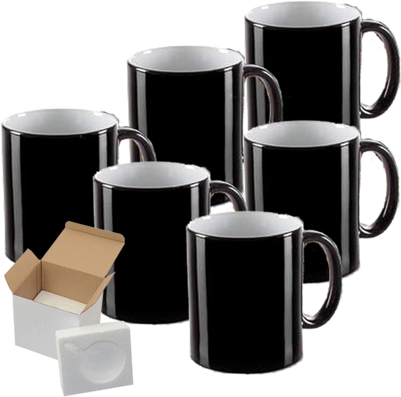 Set Superior of safety 6 15 oz Magic Professional Su Mugs Mug- Sublimation Grade